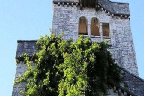 Смотровая башня на горе Ахун. Наши дни