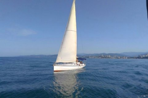 Морская прогулка на яхте в Сочи